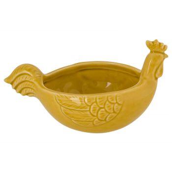 Cosy @ Home Chicken Bowl Sand 15,8x10,3xh8,8cm Elong