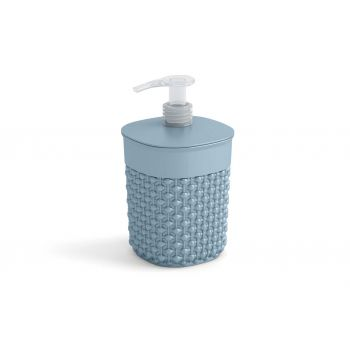 Kis Filo Soap Dispenser Misty Blue D9xh16cm