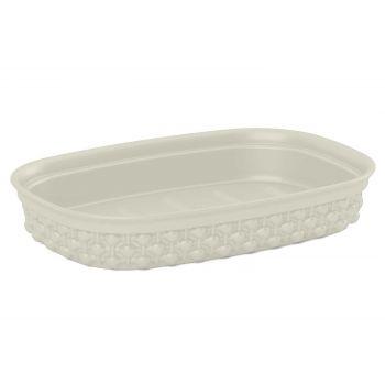 Kis Filo Soap Dish Ivory 15x10xh3cm Rectangu