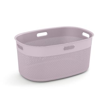 Kis Filo Laundry Basket Rose 45l 59x39xh27cm
