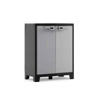 Keter Titan Low Cabinet Black-grey 80x44x100cm