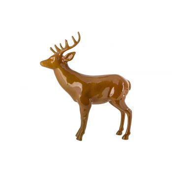 Cosy @ Home Deer Glazed Finish Mel Camel 54x20xh61cm