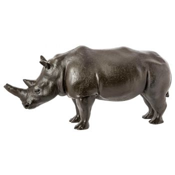 Cosy @ Home Rhinoceros Grey 50x15xh24cm Stoneware