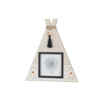 Cosy @ Home Photoframe Indian Tipi Nature 20x2xh23cm