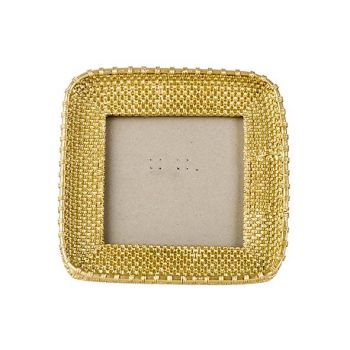 Cosy @ Home Photoframe Gold 15,5x15,5xh2,5cm Rectang