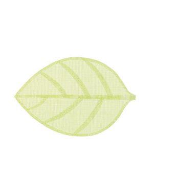 Cosy @ Home Trivet Leaf Green 46x30xh,2cm Textile