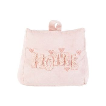 Cosy @ Home Doorstop Home Pink 18x11xh34cm Textile