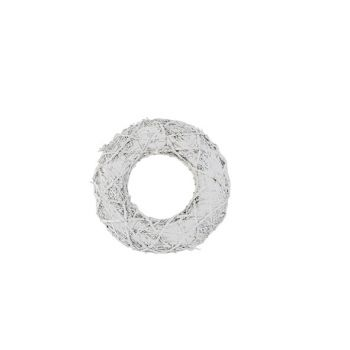 Cosy @ Home Branch Wreath White Wash Nature D38xh7cm
