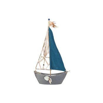Cosy @ Home Sailing Boat Blue 37xh72cm Textile