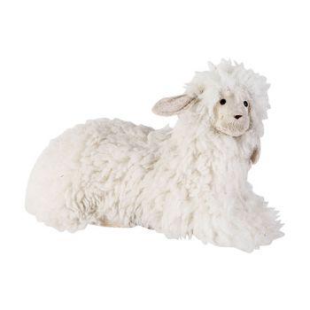 Cosy @ Home Sheep Wool White 37x19xh20cm Foam