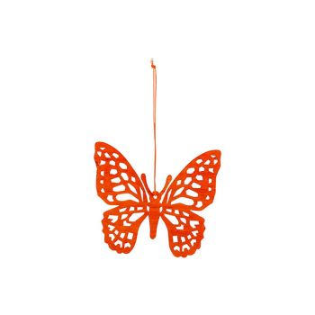Cosy @ Home Butterfly Hanger Orange 12xh11cm Wood