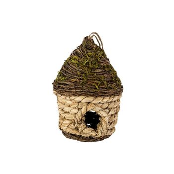 Cosy @ Home Bird S Nest Nature D15xh19cm Willow