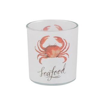 Cosy @ Home Tealight Holder Crab Orange White D7xh8c