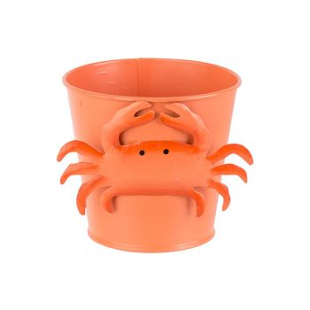 Cosy @ Home Bucket Crab Orange D7xh12cm Metal