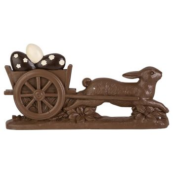 Cosy @ Home Easter Hare Pulling Egg Chocolate 32,6x6