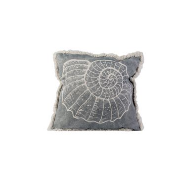 Cosy @ Home Cushion Shell Grey 45x45xh10cm Cotton