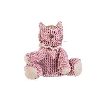 Cosy @ Home Doorstop Cat Pink 27x25xh23cm