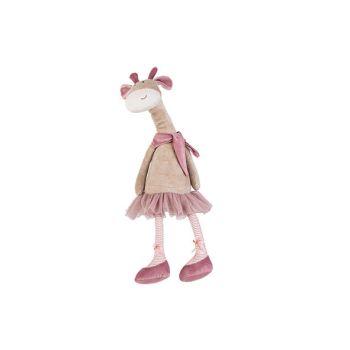 Cosy @ Home Giraffe Long Legs Beige Pink 16x13xh55cm