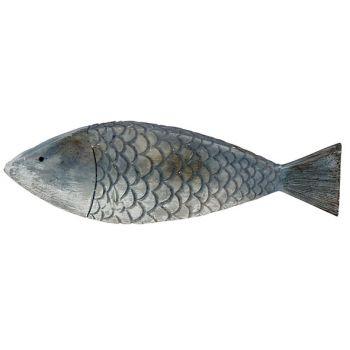 Cosy @ Home Fish Fish Skin Blue 18,5x2,5xh5,5cm