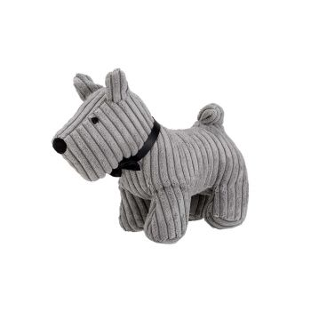 Cosy @ Home Doorstop Dog Grey 29x15xh23cm Textile