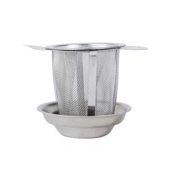 Cosy & Trendy Filter Stainless Steel Shape Teapot