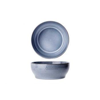 Cosy & Trendy Toluca Blue Bowl D15,8xh6,3cm
