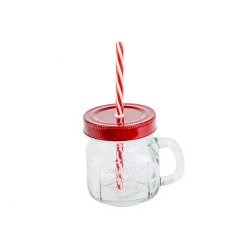 Cosy & Trendy Cup With Handle With Straw