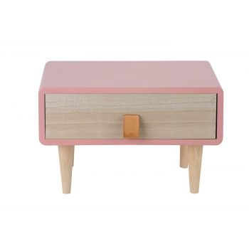 Cosy @ Home Closet Retro 1tray Pink 28x20xh18cm Rect