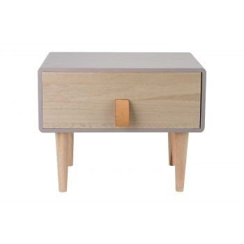 Cosy @ Home Retro 1tray Taupe Rectangular Wood