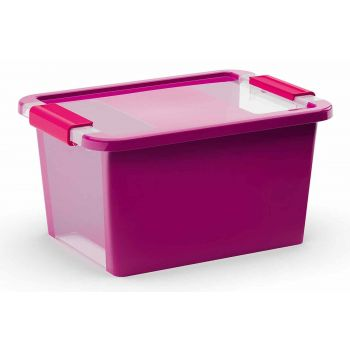 Kis Bi-box Storage Box S Violet 11l