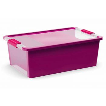 Kis Bi-box Storage Box M Violet 26l 55x35x