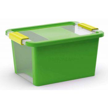 Kis Bi-box Storage Box S Green 11l 36,5x26xh