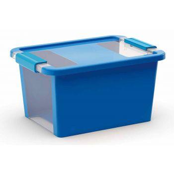 Kis Bi-box Storage Box S Blue 11l 36,5x26xh1
