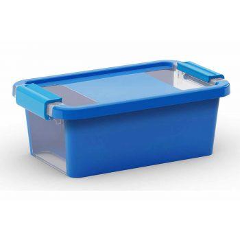 Kis Bi-box Storage Box Xs Blue 3l 26,5x16x