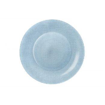 Bormioli Inca Plate Softblue  D31xh1,5cm