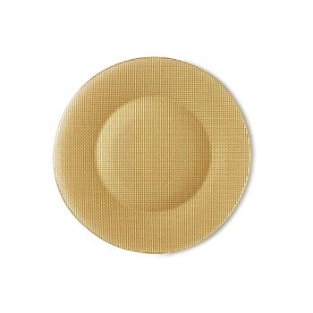 Bormioli Inca Plate Yellow D31xh1,5cm