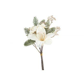 Cosy @ Home Bouquet Lily Hydrangea Cream 19x11xh35cm