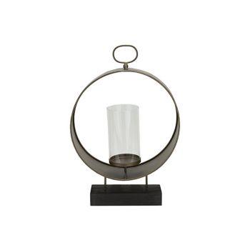 Cosy @ Home Lantern Brass 30,5x12xh46cm Metal