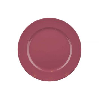 Cosy @ Home Plate Glossy Vieux Pink D33xh2cm Round S