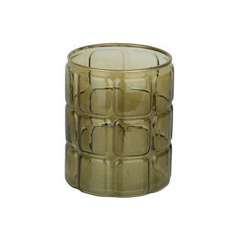 Cosy @ Home Wind Light Green 12x12xh15cm Round Glass