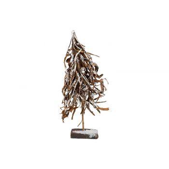 Cosy @ Home Branch Tree Bark Snowy Brown 30x12xh65cm