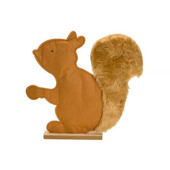 Cosy @ Home Squirrel Camel 25x4,5xh27cm Felt