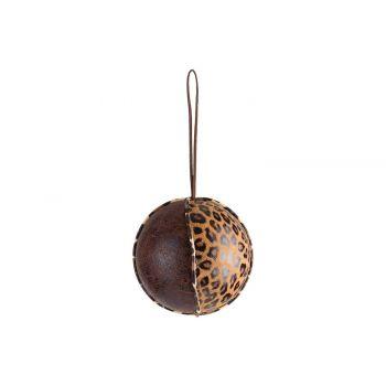 Cosy @ Home Ball Leopard Brown D10cm Foam