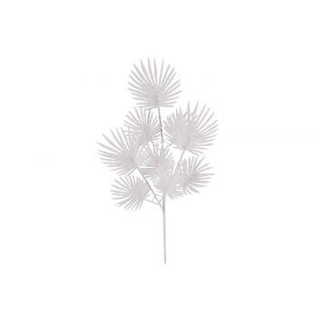 Cosy @ Home Fern Branch Glitter White 17x1xh63cm Syn