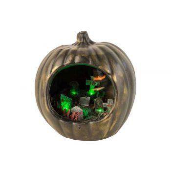 Cosy @ Home Pumpkin Animation Graveyard Black 22x19x