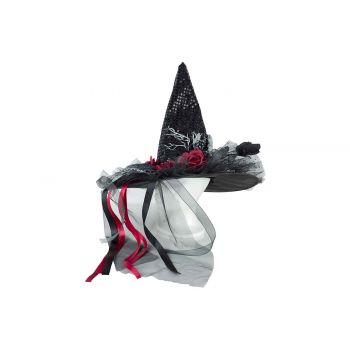 Cosy @ Home Witch Hat Black 45x45xh85cm Textile