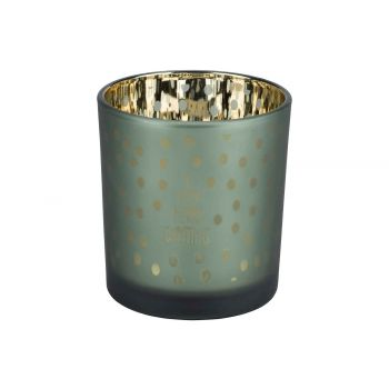 Cosy @ Home Tealight Holder A Verry Merry Green D7xh