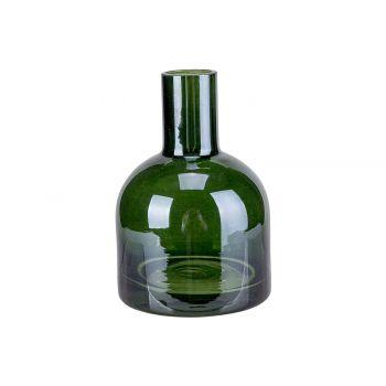 Cosy @ Home Vase Dark Green D7xh10cm Glass
