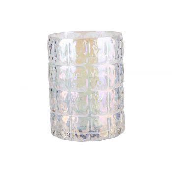 Cosy @ Home Tealight Holder Irise Transparent D10xh1