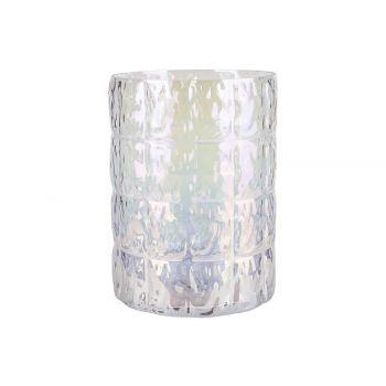 Cosy @ Home Tealight Holder Irise Transparent D15xh2